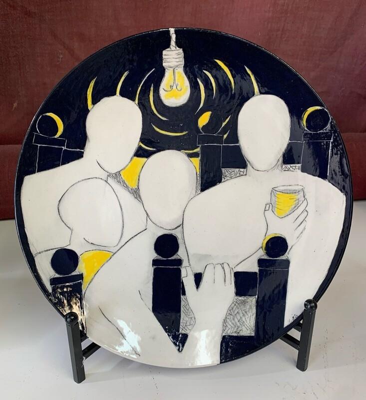 "Thanksgivings. Ceramics, 15 1/4"""