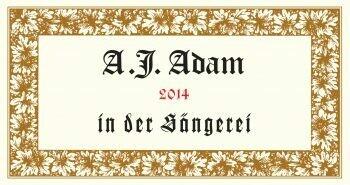 A.J. Adam Dhron Hofberg Riesling Kabinett 2018