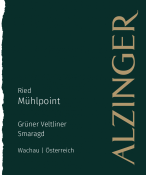 Alzinger Grüner Veltliner Ried Muhlpoint Smaragd 2017