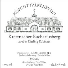 Hofgut Falkenstein Krettnacher Euchariusberg Riesling Kabinett 2017
