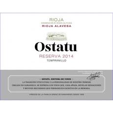 Ostatu Rioja Reserva 2014