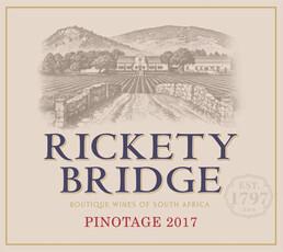 Rickety Bridge Pinotage 2017
