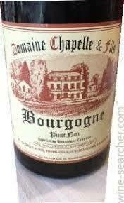 Domaine Chapelle & Fils Bourgogne Rouge 2018