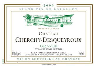 Cherchy-Desqueyroux Graves 2016