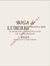 Bodegas Luberri Crianza Biga 2015