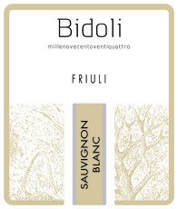 Bidoli Sauvignon Blanc 2019