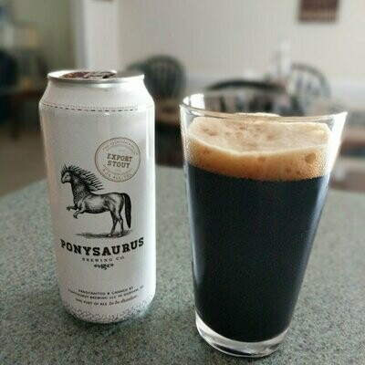 Ponysaurus Export Stout 4 x 16oz