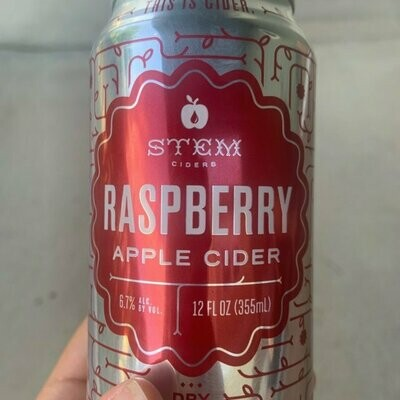 Stem Raspberry Cider 4 x 12 oz