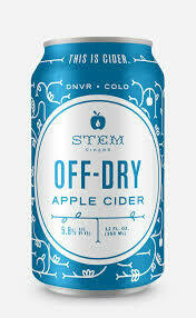 Stem Off Dry Cider 4 x 12oz
