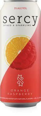 Sercy Spiked & Sparkling Orange Raspberry 6 x 12 oz