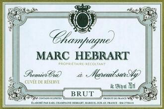 Marc Hebrart, Champagne 1er Cru Brut Cuvee de Reserve