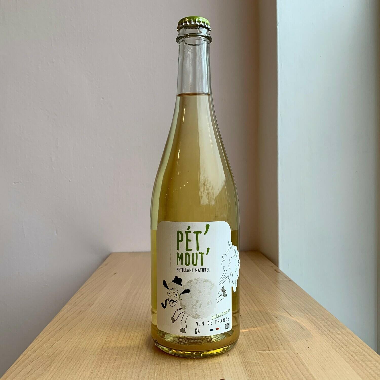 """Domaine Moutard-Diligent """"Pet Mout"""" Chardonnay Petillant Naturel NV"""