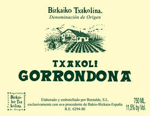 Doniene Gorrondona Bizkaiko Txakolina 2019