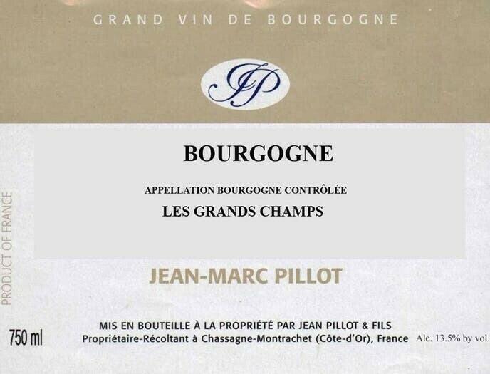 Domaine Jean-Marc Pillot Bourgogne Blanc Les Haut des Champs 2017