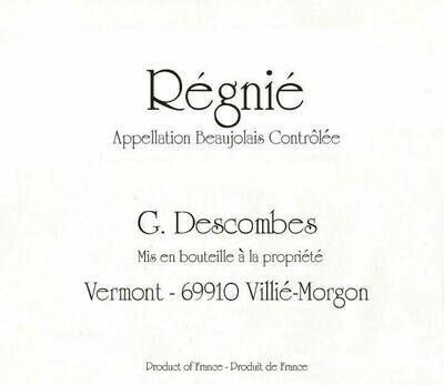 Georges Descombes Régnié Vieilles Vignes 2018
