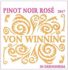 Von Winning (Spätburgunder) Pinot Noir Rosé 2019