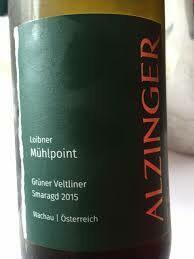 Alzinger Grüner Veltliner Smaragd Ried Loibner Mühlpoint 2015