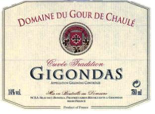 Bonfils, Domaine du Gour de Chaulé, Gigondas 2016