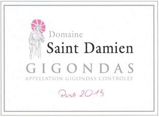 Domaine Saint-Damien Gigondas Rosé 2020