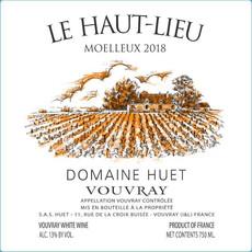 """Domaine Huet Vouvray Moelleux """"Le Haut-Lieu"""" 2018"""