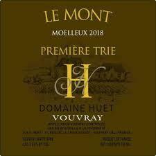 """Domaine Huet Vouvray Moelleux 1er Trie """"Le Mont"""" 2018"""