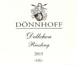 Donnhoff Dellchen Riesling GG 2017