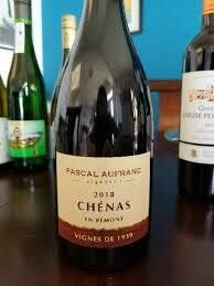Pascal Aufranc 1039 Chenas 2018