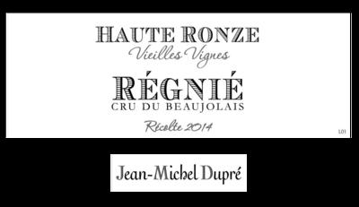 Jean-Michel Dupre Regnie Haut Ronze VV 2019