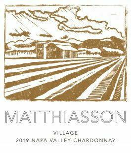 Matthiasson Village Chardonnay No. 1 2019