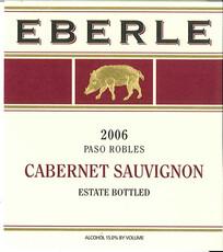Eberle Estate Cabernet Sauvignon 2016 Magnum