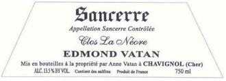 Edmond et Anne Vatan Sancerre 'Clos la Neore' 2015