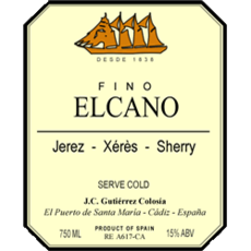 El Cano Fino Sherry 375mL