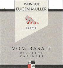 Eugen Muller Vom Basalt [Pechstein] Riesling Kabinett 2019