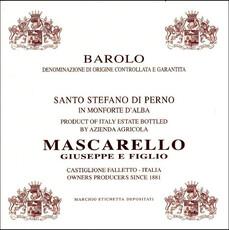 Giuseppe Mascarello Barolo Perno 2012