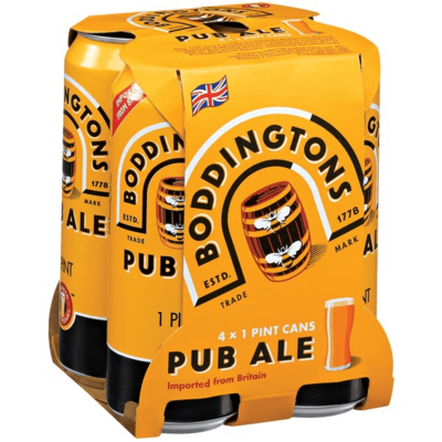 Boddingtons English Pale Ale 4 x 16oz