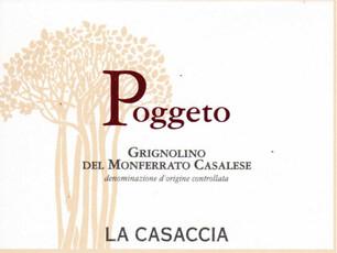 La Casaccia Poggeto Grignolino del Monferrato 2019