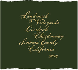 Landmark Vineyards Overlook Chardonnay 2018