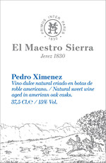 Maestro Sierra Pedro Ximenez Sherry 375mL