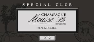 Moussé Fils, Champagne Brut Special Club 2013