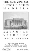 Rare Wine Co. Savannah Verdehlo Madeira 750mL