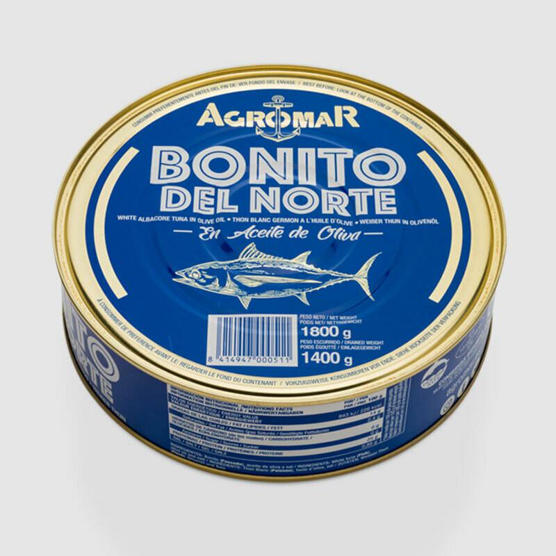 Agromar - Tuna 'Bonito del Norte' 1800 gram can