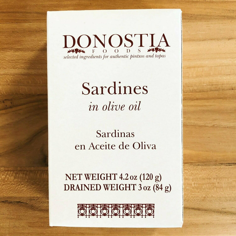 Sardines in Olive Oil 4.5oz Tin