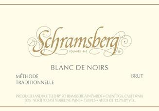 Schramsberg Blanc de Noir 2017