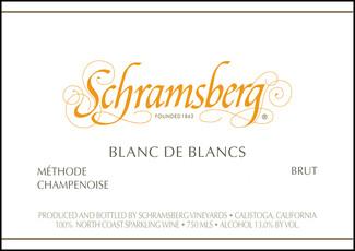 Schramsberg Blanc de Blanc 2018