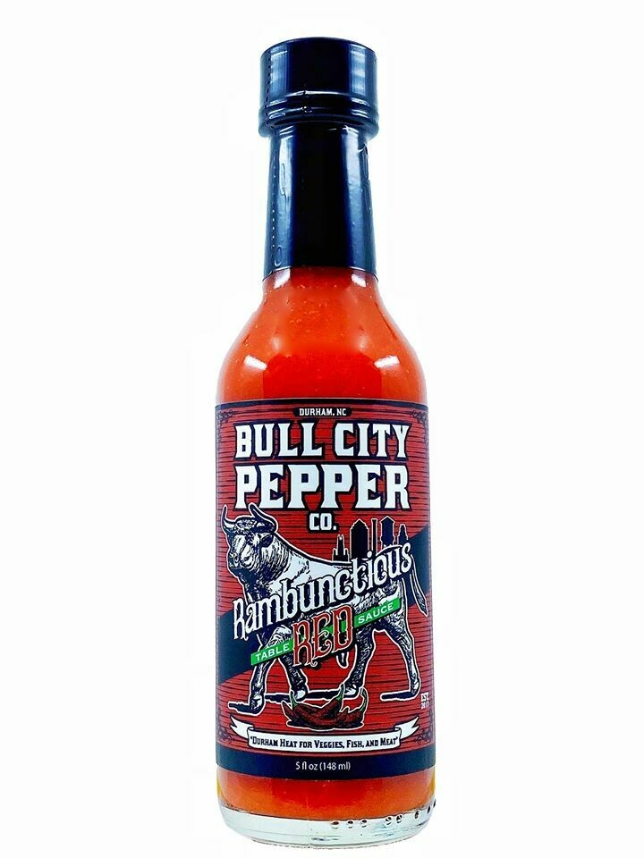 Bull City Pepper Co Rambunctious Red