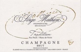 Serge Mathieu Champagne Blanc de Noirs Pur Pinot NV