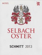 Selbach-Oster, Zeltinger Schlossberg 'Schmitt' Riesling Auslese 2017