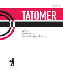 Tatomer Santa Barbera County Pinot Noir 2017