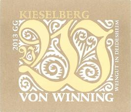 Von Winning Kieselberg Riesling Grosses Gewächs 2018