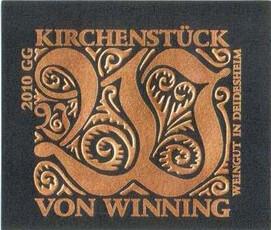 Von Winning Kirchenstuck Riesling Grosses Gewächs 2015